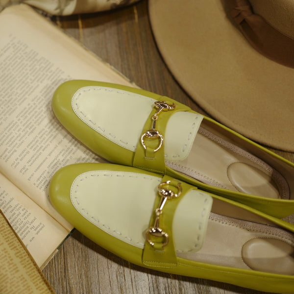 British Classical Green Loafer