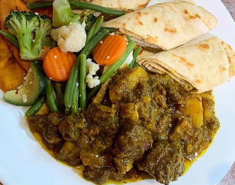 Jamaican Curry Goat