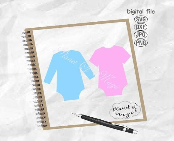 Baby Onesie Svg, Baby Bodysuit Svg, Onesie Cut File, Onesie Template, Onesie Digital File