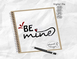 Be Mine Svg, Valentine Day Svg, Valentine Svg