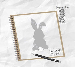 Bunny SVG, Easter Svg, Easter Bunny Svg, Rabbit SVG, Easter Cut File