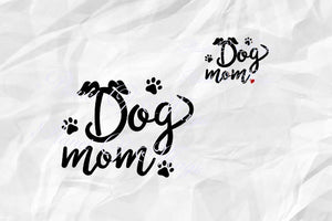 Dog Mom Svg, Dog Lover Svg, Dog Svg