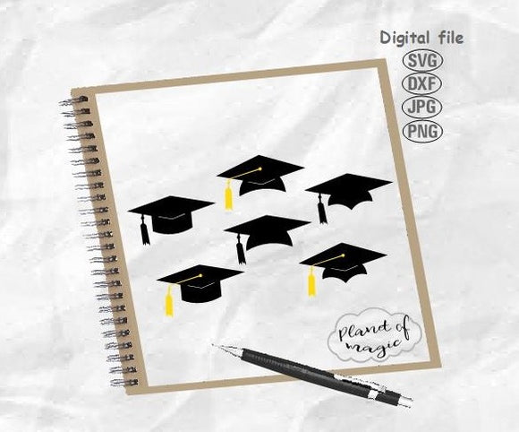 Graduation Svg, Graduation Hat Svg, Class Of Svg, College Svg, Graduation Cut File