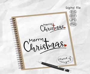Merry Christmas Svg, Christmas Svg, Christmas Sign Svg, Christmas Cricut