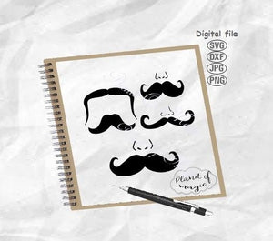 Face Mask Design Svg, Mustaches Svg, Face Svg, Nose Svg, Mustaches Mask Svg, Mustaches Cut File, Face Mask Svg