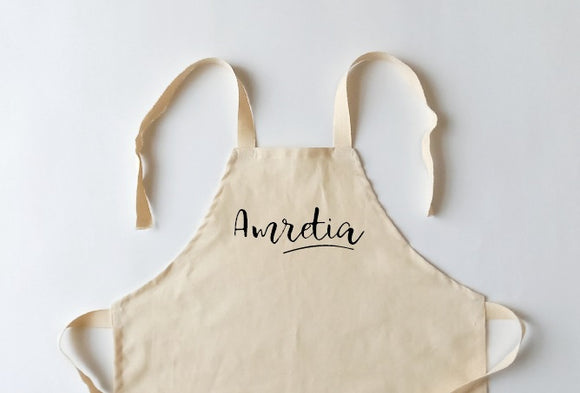 Kid Apron, Cooking Apron, Personalised Kid Apron, Child Apron, Kid Baking Apron, Kid Chef Apron, Kid Kitchen Apron, Children Apron