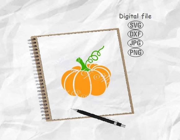 Pumpkin Svg, Halloween Svg, Halloween Pumpkin Svg, Thanksgiving Svg