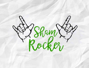 St Patricks Day Svg, Sham Rocker Svg, Irish Svg, St Pattys day Svg