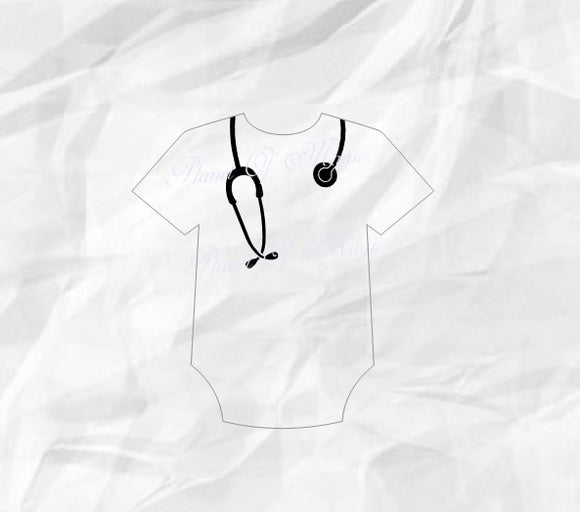 Stethoscope Svg, Doctor Svg, Nurse Svg
