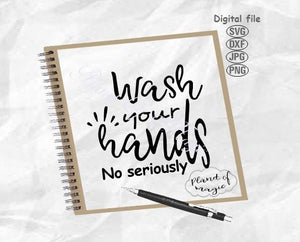 Wash Your Hands Svg, Bathroom Sign Svg, Toilet Svg