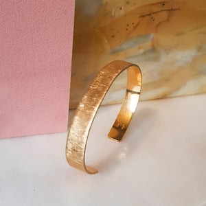 CONTRAST bangle, goldplated