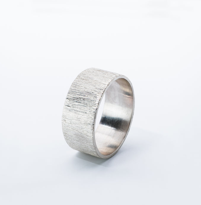 CONTRAST ring, silver