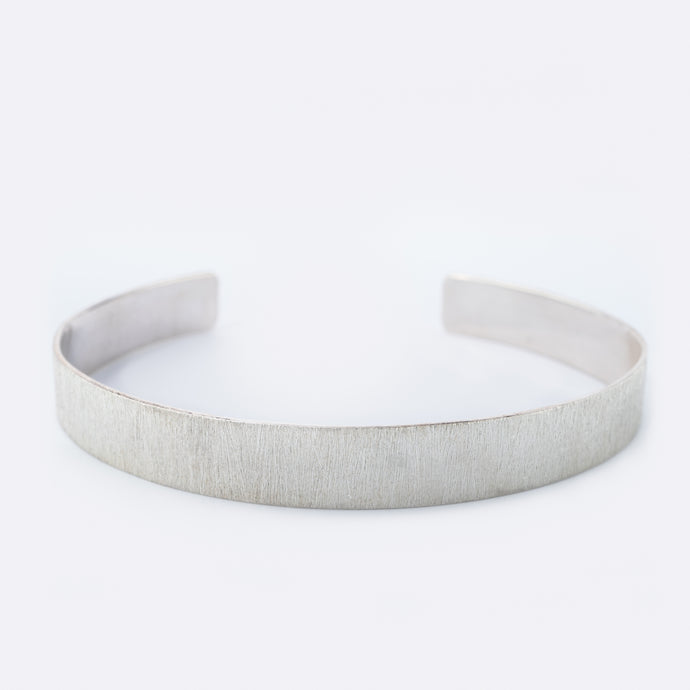 CONTRAST bangle, silver