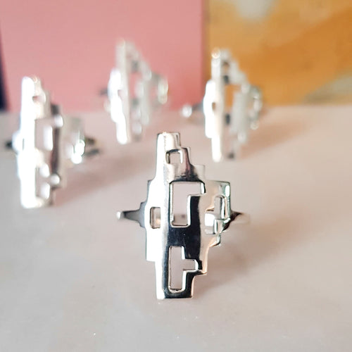 TETRIS ring, small