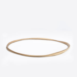 Wave bangle, 18karat gold