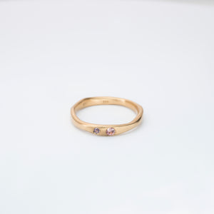 Wave ring, 18karat gold
