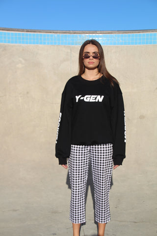 Black French Terry Sweatshirt