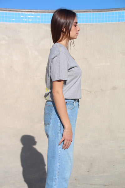 Grey Protest Tee