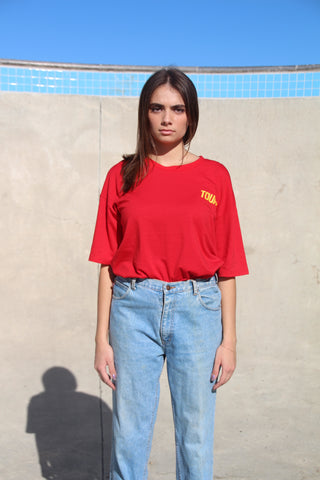 Red Racer Tee