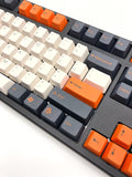 "Tai Hao ""Carbon"" Doubleshot ABS 104 Cherry MX Keycap Set - C01WP301"