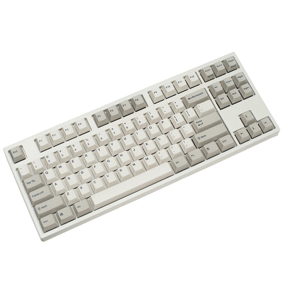 Leopold FC750R PD Tenkeyless Mechanical Keyboard - White/Grey