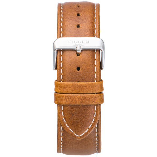 Genuine Leather Tan Strap