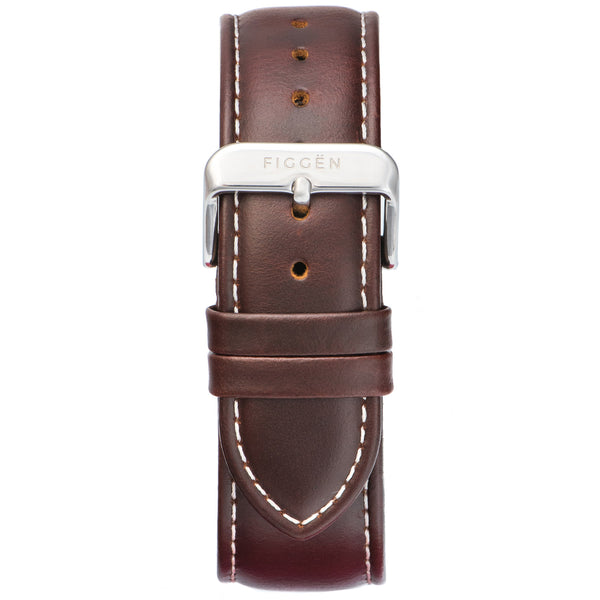 Genuine Leather Brown Strap