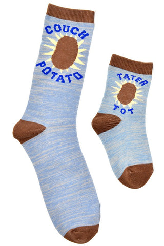 Couch Potato & Tater Tot Sock Set