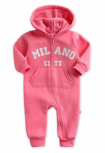 Baby Doll Milano Fleece Romper