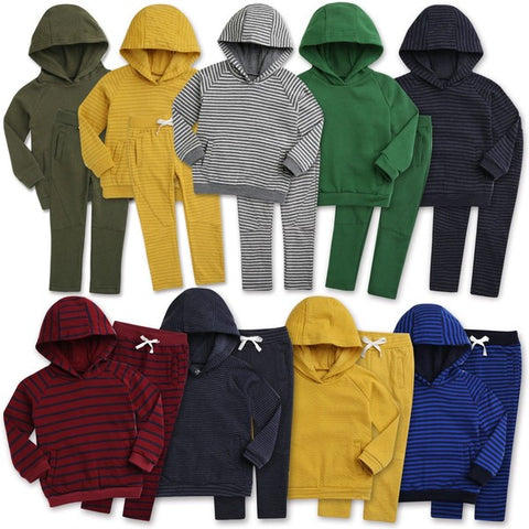 Hooded Jogger Sets