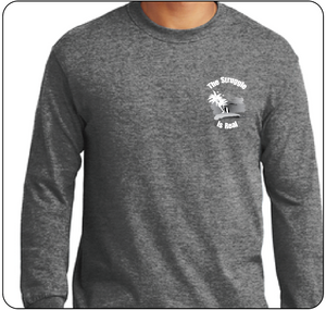 The Struggle is Real Unisex Long Sleeve T-shirt Heather Grey