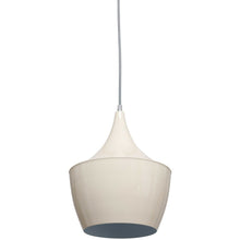 Cream Metal Pendant Light Shade