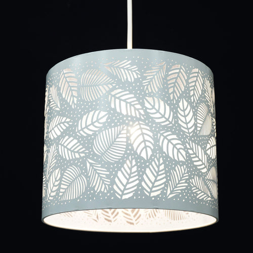 CGC Elegance Drum Shade with Leaf Detailing
