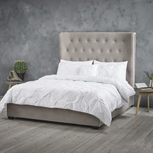Belgravia Luxury Ottoman Style Bed with Extra Large Headboard