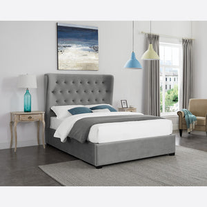 Luxury Ottoman Style Bed with Extra Large Headboard