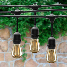 48ft / 14.6 Metre Vintage Style Outdoor Festoon String Lights