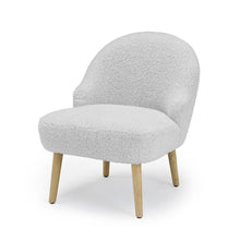 Soft Fluffy Teddy Arm Chair In White Or Grey