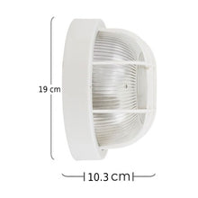 Round Bulkhead Light - Choice Of Styles And Colours