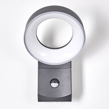 Dark Grey Halo LED Outdoor Post Or Wall Light - Choice Of Styles