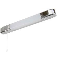 Chrome Or White LED Shaver Light In 4000k With Shaver Socket