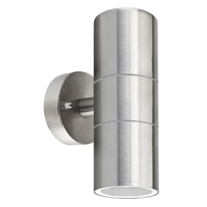 Stainless Steel Outdoor Up And Down Wall Light