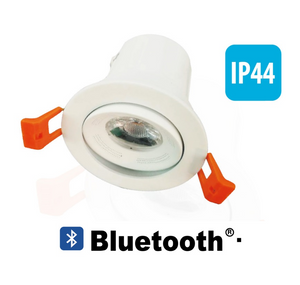 Integrated Bluetooth 3W Speaker & LED 5W Downlight 4000K Natural White Colour