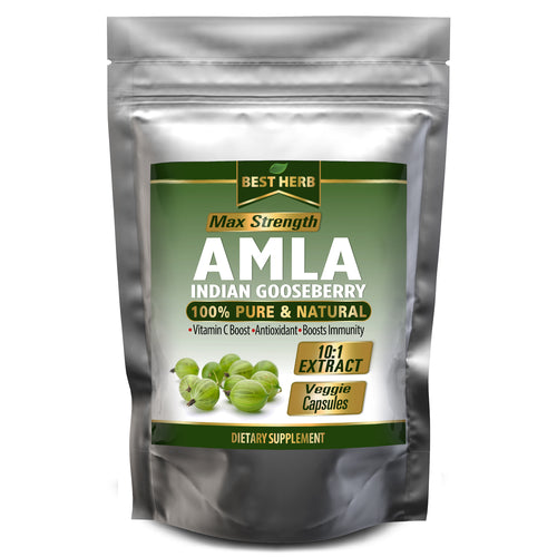 240 x Capsules Amla (Amalaki Indian Gooseberry) High Vitamin C Boost 100% Pure Extract Boost Immune Response