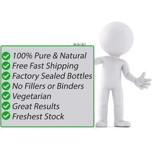 Vegetarian 100% Pure & Natural No Fillers or Binders