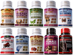Combo Mix & Match Herbal Supplements: Choose Any From Our Huge Range