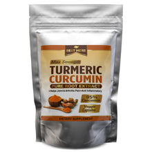 Load image into Gallery viewer, 240 x Premium Capsules Turmeric Curcumin Root Extract 10,000mg (95% Curcuminoids)