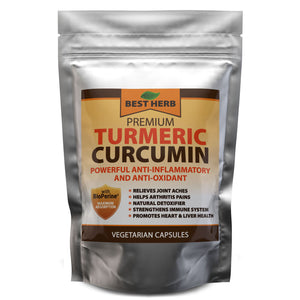 240 x Capsules Premium 10,000mg Extract Turmeric Curcumin 95% With Black Pepper (BioPerine)