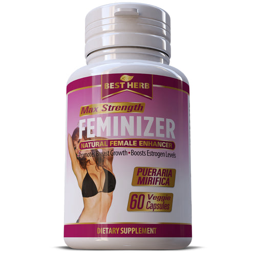 Feminizer Pueraria Mirifica Premium Herbal Ladyboy LGBT Estrogen Pills Breast Grow