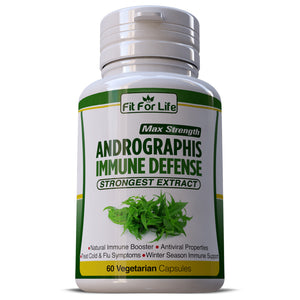 Andrographis AntiViral Properties Boost Respiratory Immune Defense Support Capsules Pills