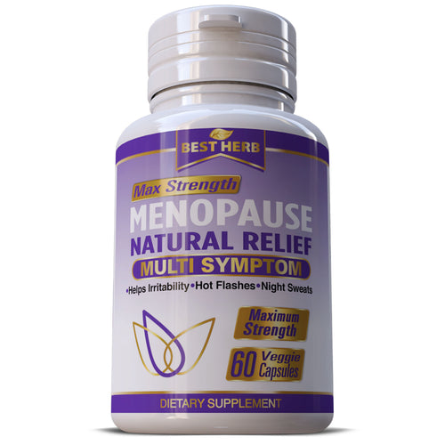 Menopause Relief Supplement Pills Estrogen Balance Hot Flashes Support Capsules